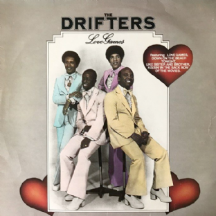 Drifters (The) - Love Games (LP) (G+/G++)